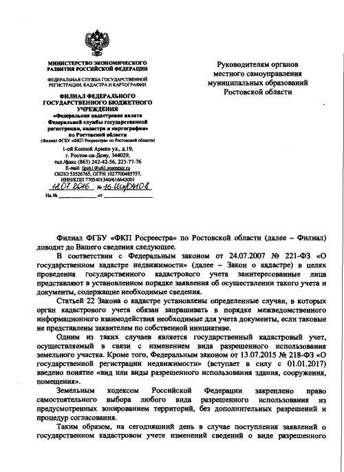 Закон о государственном кадастре недвижимости от 13.07.2015